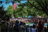 photo of Town Day on green