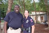 Lt Ingram and Chief Miller