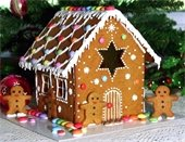 Family Gingerbread House Event