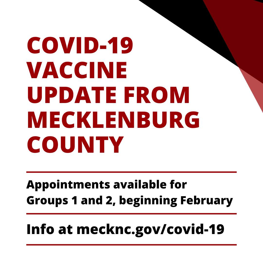 Meck County Vaccine Update