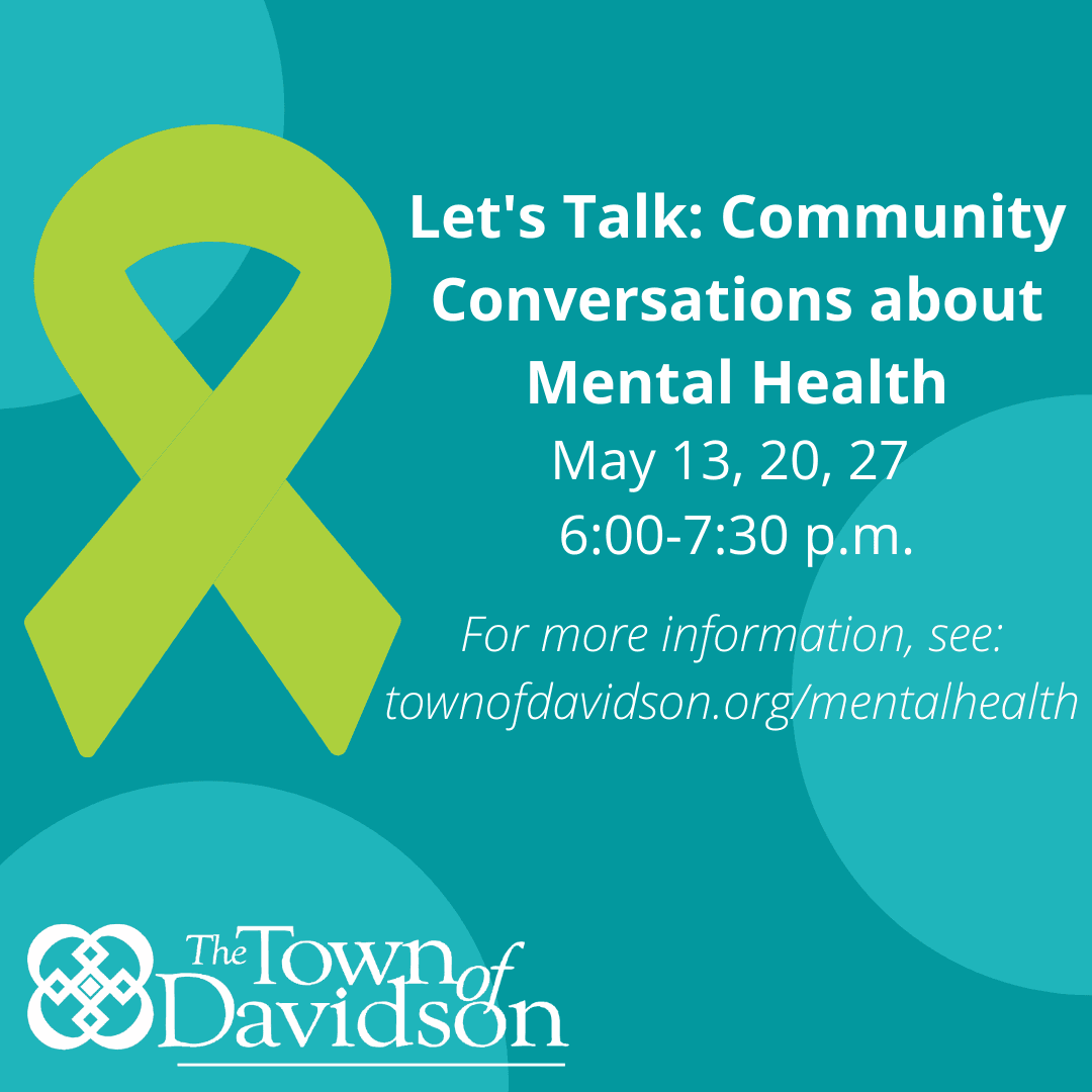Community Conversations- Mental Health