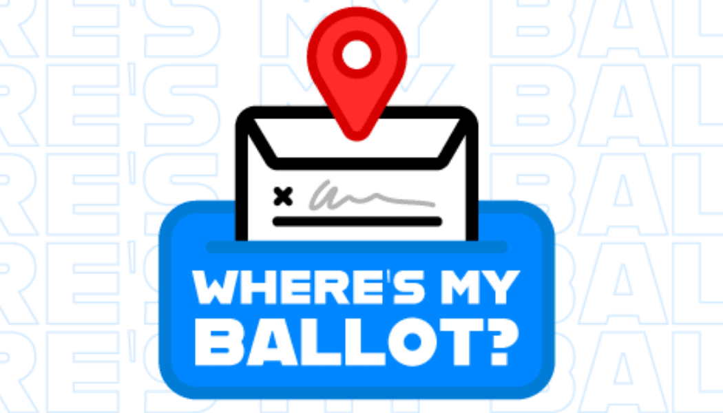 Track Your Ballot graphic Opens in new window