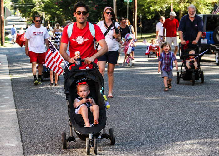 2014-July-4 stroller in parade